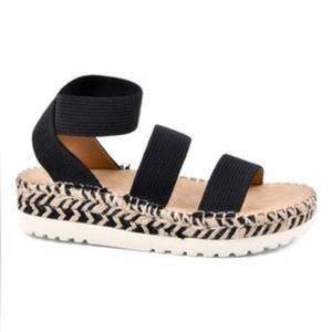White Mountain Kolton Wedge Sandals
